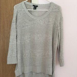 Loose knit hi low sweater